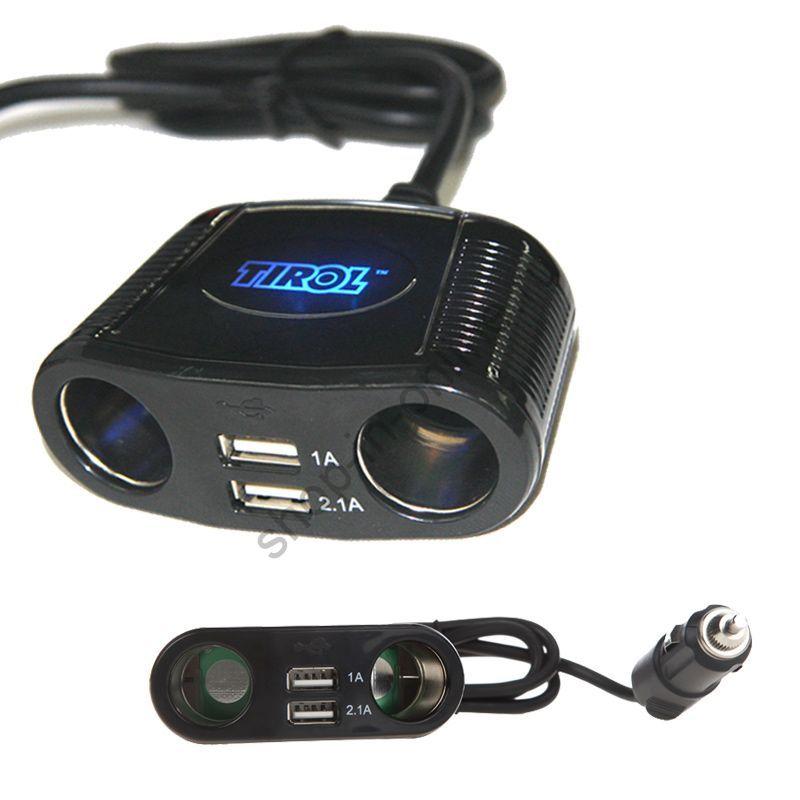 разветвитель прикуривателя 12 - 24 В 150 Вт K1028