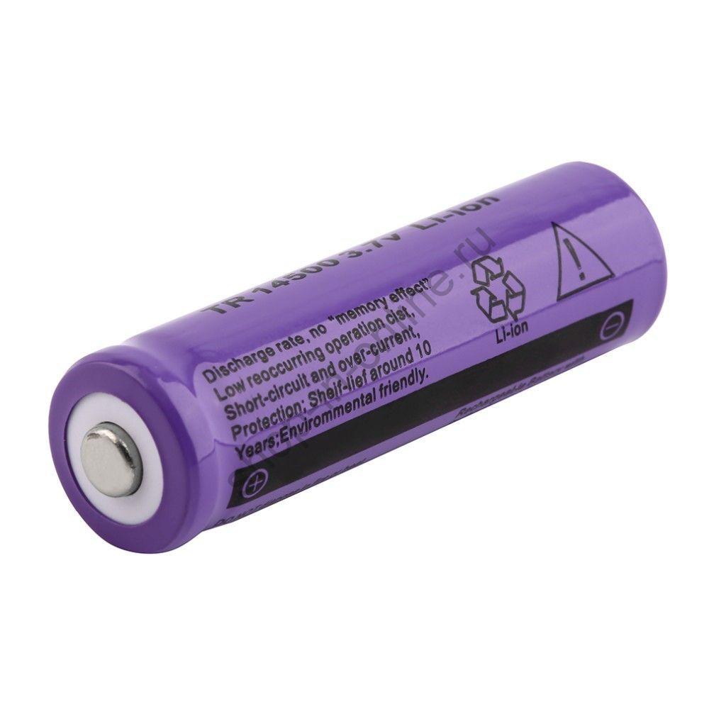 Аккумулятор  14500 2300 мАч 3,7V (4 шт.)